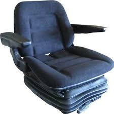siege grammer deluxe tractor suspension seat fabric armrests grammer ds85 style
