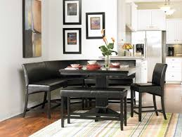 Dining Room With Bench Seating Bench Dramatic Corner Bench Dining Room Table Set Eye Catching