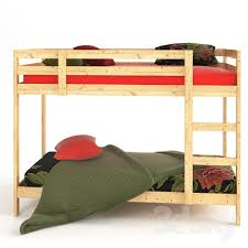 Mini Bunk Beds Ikea 3d Models Bed Frame 2 Bunk Beds Ikea Midal And Linens Bunk Bed