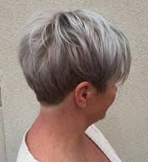what enhances grey hair round the face 60 gorgeous hairstyles for gray hair