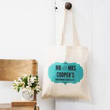 honeymoon gift personalised honeymoon gift bag by lou brown designs