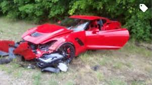 2017 chevrolet corvette z06 msrp video red corvette z06 crashes during acceleration run gtspirit