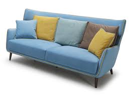 Tall Couch by Tall Boy Retro Sofa In Acqua Blue Color Not Just Brown