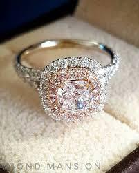 custom wedding rings wedding rings deer pearl flowers