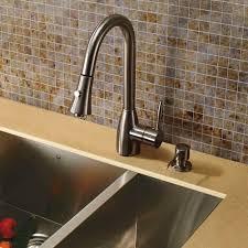 faucet kitchen faucet with soap dispenser
