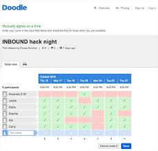doodle poll tool 9 meeting scheduler tools to make your day more productive