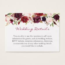 wedding registry templates wedding registry business cards templates zazzle