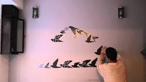 Bimago Adesivi Murali by Come Creare Una Semplice Testiera Adesiva Youtube