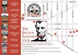 Washington Dc Walking Map by Lincoln Assassination Tour Dc Walking Tours Dc Walkabout