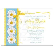 blue and gold ribbon girl s communion invitation blue gold ribbon lace