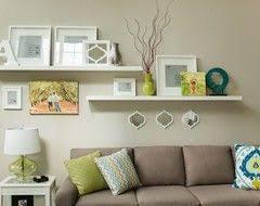 Home Decor Shelf Ideas Best 25 Shelves Over Couch Ideas On Pinterest Living Room