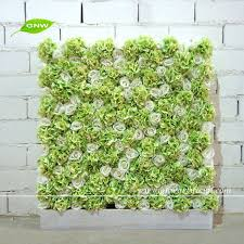 wedding backdrop grass gnw flw1508003 new design silk hydrangea flower wall for