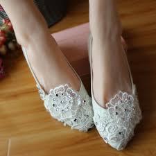 sweet lace flower bridal shoes t sweet princess applique lace