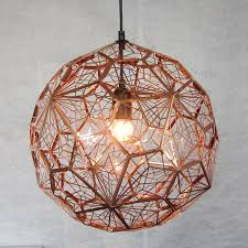 L Shade Pendant Light Tom Dixon Etch Web Pendant Light Brass Or Silver Chandeliers