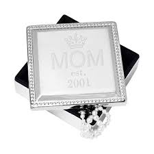 jewelry box favors personalized s day silver square jewelry box gifts for