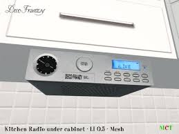 kitchen clock radio under cabinet kitchen radio under cabinet second life marketplace under cabinet