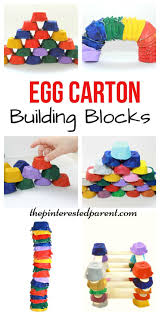 egg carton building blocks for kids engineering u0026 stem kids
