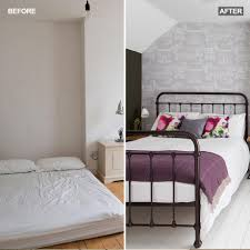 before and after see how this attic bedroom went from bland to