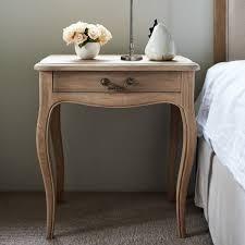 bedside table oak bedside table french style