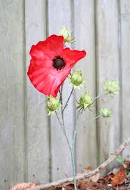 lest we forget simple diy poppies