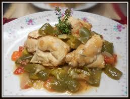 lapin cuisiné lapin a l espagnole la cuisine de josette