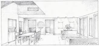 sketch of the inside of a house u2013 modern house