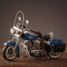 retro motorcycle model home furnishing decoration made metal