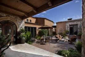 houses with courtyards front entry courtyard mediterranean patio by r j