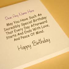 What To Write In A Birthday Card For Your Boyfriend Name Write Birthday Greeting Card Picture Online Editor