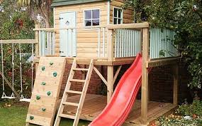 Tree House Backyard by Treehouse Builders Tree House Building Companies For Hire California