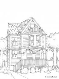 coloring page house 492 best coloring page house door images on drawings
