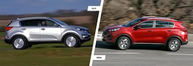 lexus suv older kia sportage u2013 old vs new compared carwow