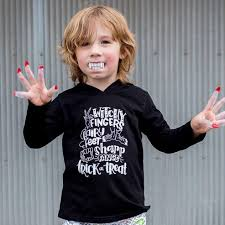 kids halloween long sleeve hooded shirt u2013 b gatsby