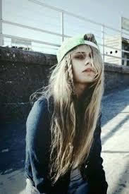 hairstyles for skate boarders image result for skateboard girl long dreads skateboarding