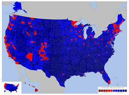 Election 2016 Map by 2016 White And Non White Vote By County Project Reopened
