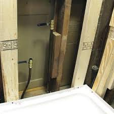 prep for shower wall tile