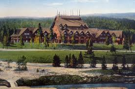 old faithful inn lodge pole pine 1904 travel pinterest