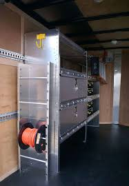 v nose trailer cabinets enclosed trailer cabinets lor cargo accessories canada used
