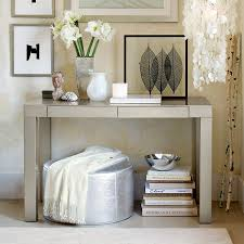 Parsons Console Table Parsons Console Table With Material Modern Console Tables