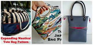 pattern for tote bag with zipper how to sew a recessed zipper on a bag so sew easy