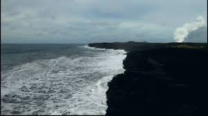 Black Sand Beaches by Kaimu Black Sand Beach Youtube