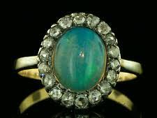 black opal engagement rings black opal ring ebay
