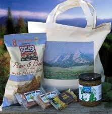 colorado gift baskets naturally colorado organic gift mountain range bag