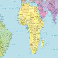 Peters Projection Map German World Map Weltkarte Maps And Directions At Map