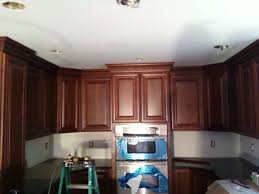 how to install cabinets with uneven ceiling kitchen cabinet crown contractor talk professional