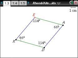 The Sum Of Interior Angles Geometry Interior Angles Of Regular Polygons Geometry Ti Math