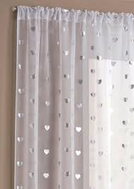 Purple Polka Dot Curtain Panels by Heart White Panel Net Voile Slot Top Tyrone Shop By Brand