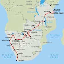 Victoria Falls Map Zimbabwe Tours And Safari Holidays On The Go Tours