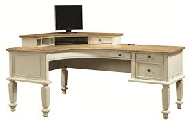 office desk small l shaped desk glass computer desk black l