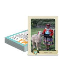 clothing from around the world cards